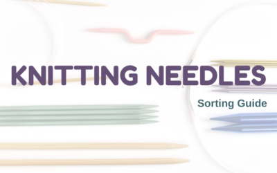Five Types of Knitting Needles
