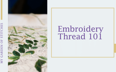 Operation: Selecting Embroidery Thread